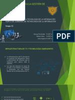 Infraestructura de TI - Marco de Gobierno de TI