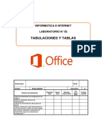 Laboratorio 02 - Word Formatos