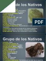 Mineralogia - Grupos de Minerales Para Estudiar.