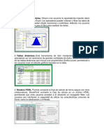 Ventajas de Excel