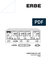 Erbe Erbotom ICC-350 - Instruction Manual