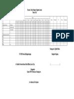 Format Rencana Kerja Program