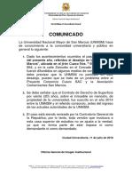 Comunicado - Desalojo Mesa Redonda (C) V3