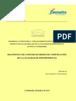 Diagnóstico Comunicación Localidad de  Independencia Cochabamba Bolivia