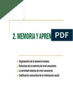 2009 02 Memoria y Aprendizaje