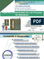 aspectos fundamentales de los procesos de refinacion