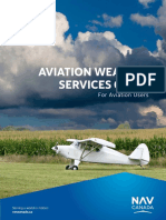 Aviation Weather Services Guide
