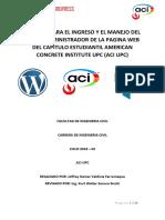 Manual Wordpress Aci Upc - 2018