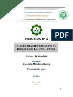 Practica 2 Claces Diametricas