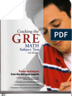 Cracking the GRE Math