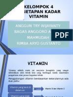 penetapan kadar vitamin