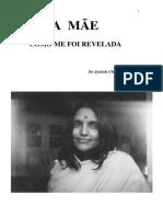 3- A Mãe, Como Me Foi Revelada - -Sri Anandamayi Ma- - Jyotish Chandra Roy