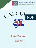 Calculo I Apuntes Oncina