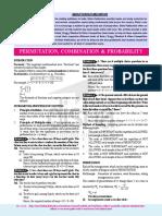 Permutation, Combination & Probability