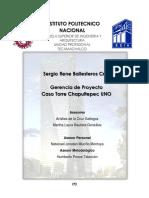 Gerencia de Proyecto, Caso Torre Chapultepec UNO