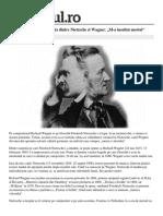 Nietzsche Si Wagner
