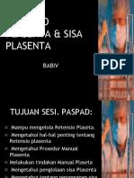 9. Retensio Plasenta & Sisa Plasenta