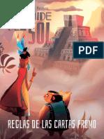 Reglamento Pirámide del Sol (Cartas Promo)