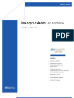 Zi x Corp Lexicon 0506