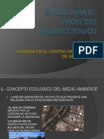 Bases Para El Proyecto Arquitectonico