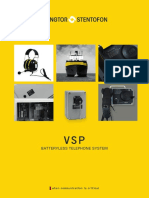 Vingtor-stentofon Vsp Batteryless Telephone System Catalog Lr