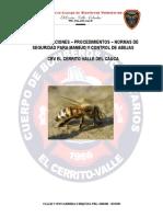 Recomendacion Control Abejas Cbv El Cerrito Valle