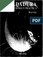 Soldadura Aplicaciones y Practica - Horwitz