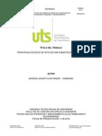 Informe de Subestaciones Electricas