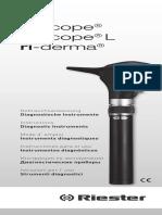 EM 65c Dermatoscopio Riester Ri Derma Manual.en.Sp