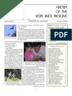 Summer-Fall 2002 Friends of Kern River Preserve Newsletter
