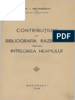 Gh.I. Georgescu - Contributii La Istoria Razboiului Pt Intregire 1940