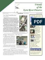 Summer-Fall 2004 Friends of Kern River Preserve Newsletter
