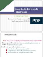 Analyse Fréquentielle Des Circuits Électriques