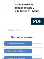 8º básico Corrección Prueba de Comprensión Lectora y Producción de Textos (1)