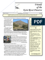 Fall 2006 Friends of Kern River Preserve Newsletter