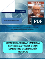 Marketing Estrategico M. Porter