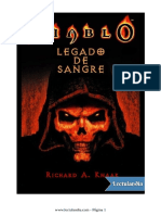 Diablo - Legado de Sangre - Richard a. Knaak