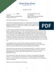 FY19 Letter Opposing ESA Riders