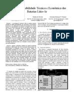 Análise da Viabilidade Técnica e Econômica das Baterias Lítio-Ar.pdf