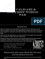 Caligari and the War