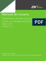 manual de usuario zkteco
