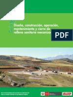 MINAM_Guía Diseño, Construcción y Operación de Relleno Sanitario Mecanizado