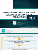 Transparencia en El SECC