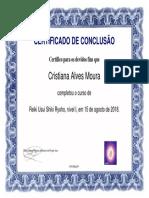 CertificadoReiki