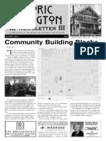 Historic Irvington Newsletter - 2018 Summer