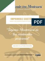 Continentes - CreciendoConMontessori
