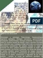Clase1 Introduccion de Geologia y La Tierra