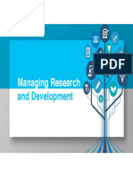 Management Research and Development
