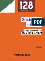 Yves Grafmeyer-Sociologie Urbaine-Armand Colin (2015)