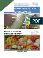 Anuario Agropecuario 2015-2016